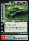 Land Raider Crusader(CC ***)
